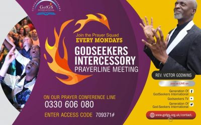 Godseekers Intercessory Mondays